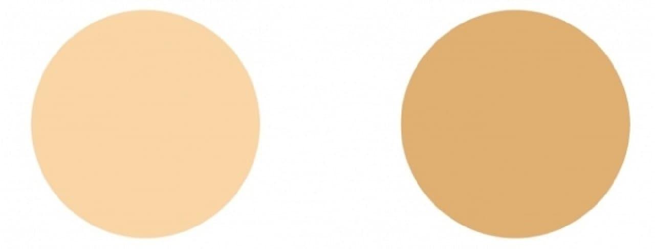 キャンメイク「クリーミーファンデーションスティック」のカラー
