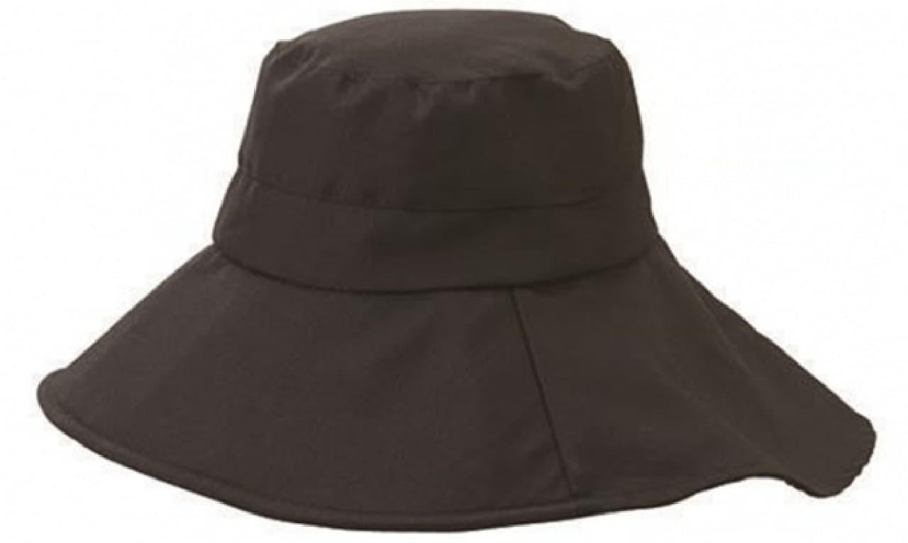 よくばりUV帽子 ツバ広女優帽