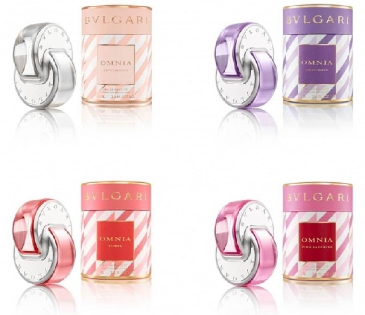 ブルガリ香水「オムニア」の限定コレクション