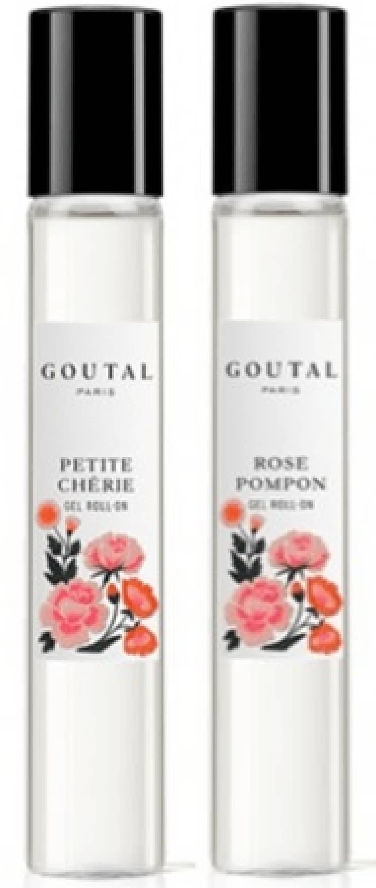 グタールの香水「プチシェリー」と「ローズ ポンポン」ジェルロールオン フレグランス