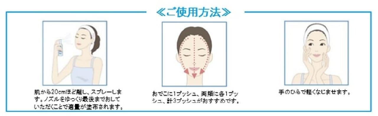 ラ ロッシュ ポゼから敏感肌用化粧水「トレリアン ウルトラ8 モイストバリアミスト」使用方法