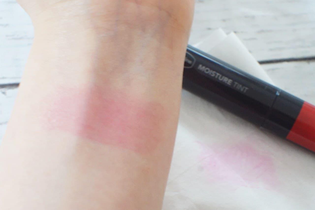 ヴァセリン モイスチャーティントを塗った腕