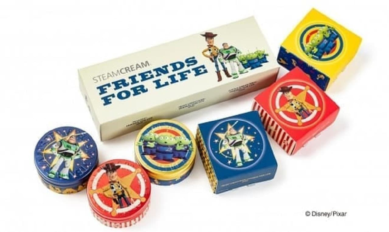 STEAMCREAM Disney design mini set -FRIENDS FOR LIFE-