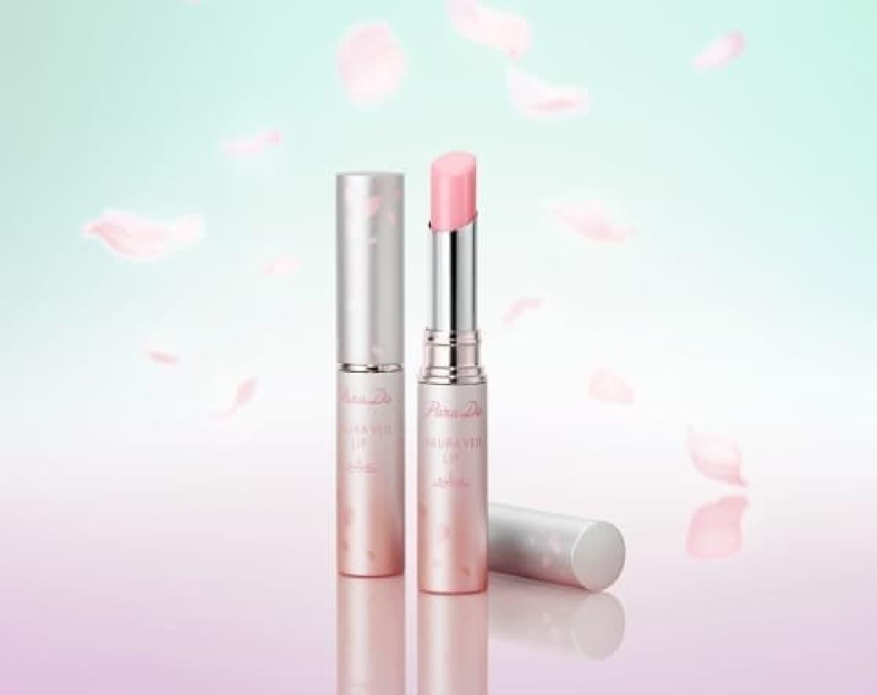パラドゥ サクラヴェールリップの限定色「PK03 しあわせ重なる濃い桜色」
